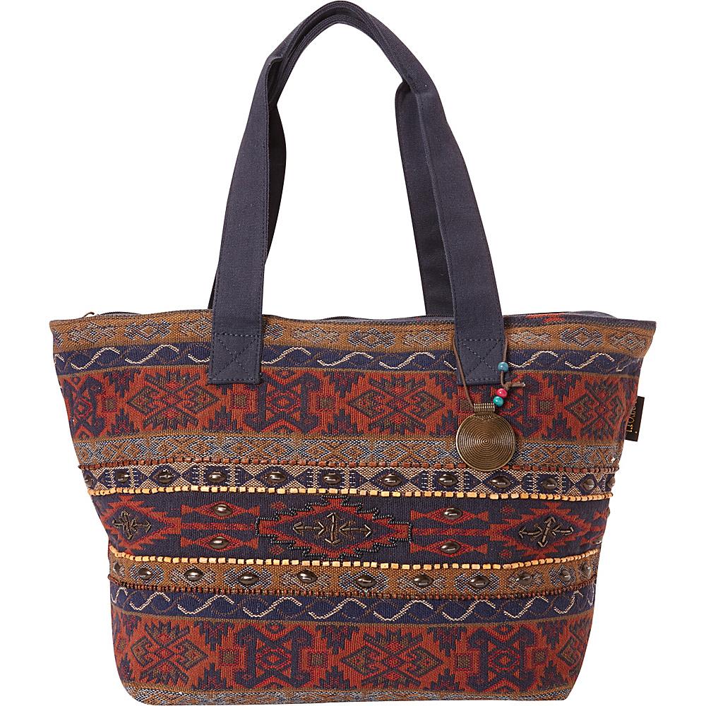 Sun N Sand Catori Komal Shoulder Tote Multi - Sun N Sand Fabric Handbags - Handbags, Fabric Handbags