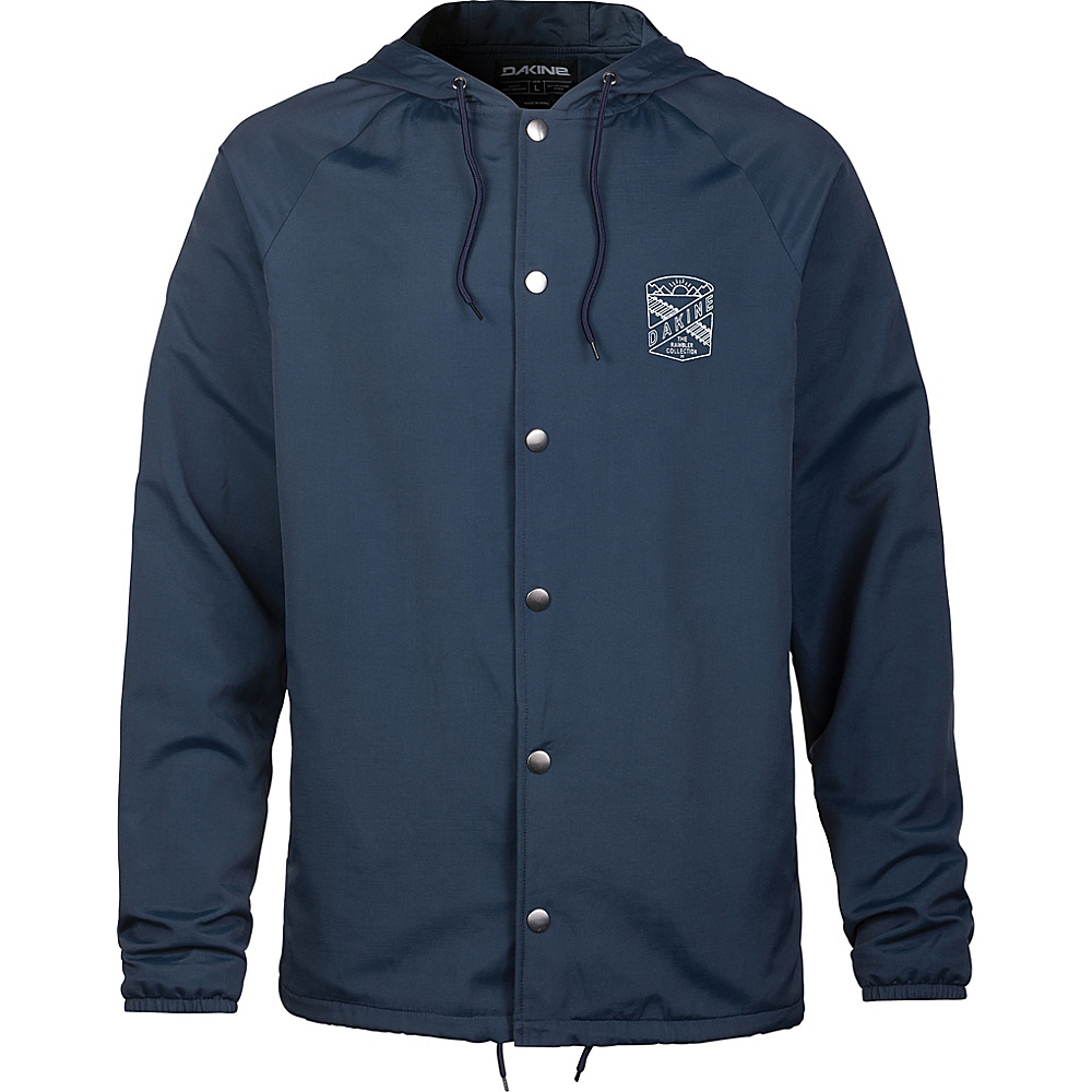 DAKINE Mens Lewis Coaches Jacket M - Midnight - DAKINE Mens Apparel - Apparel & Footwear, Men's Apparel