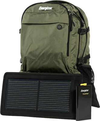 Energizer PowerKeep Wanderer Solar Panel Daypack Green - Energizer Portable Batteries & Chargers