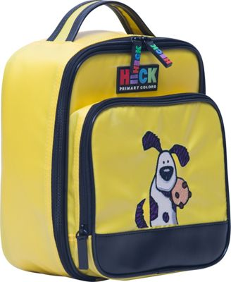 Ed Heck Luggage Pup 'n Chips Vertical Lunch Tote Yellow - Ed Heck Luggage Travel Coolers