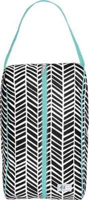 Ame & Lulu A&L Charleston Shoe Bag Black Shutters - Ame & Lulu Sports Accessories