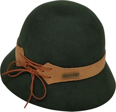 Hatch Hats Laces Cloche Hat One Size - Olive - Hatch Hats Hats/Gloves/Scarves