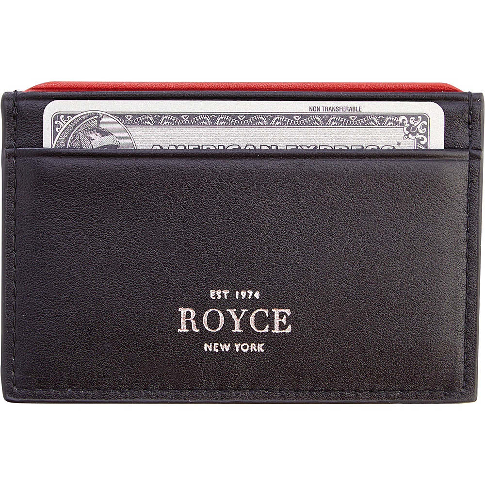 Royce Leather RFID Blocking Executive Credit Card Case Black - Royce Leather Business Accessories - Work Bags & Briefcases, Business Accessories