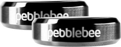 Pebblebee Finder Bluetooth Tracking Device - 2 Pack Gunmetal - Pebblebee Trackers & Locators