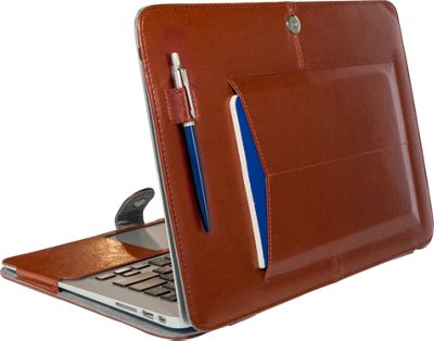 Bluebonnet Case 13 inch MacBook Air Case Chestnut Brown - Bluebonnet Case Non-Wheeled Business Cases