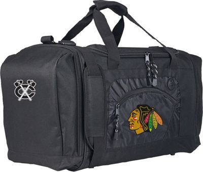 NHL Roadblock Duffel Chicago Blackhawks - NHL Gym Duffels