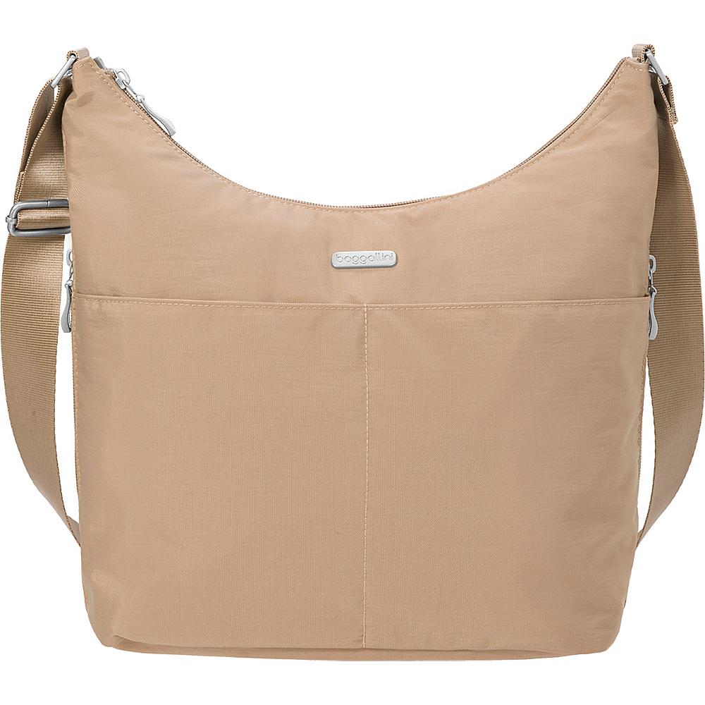 baggallini Hobo Crossbody with RFID Wristlet Beach - baggallini Fabric Handbags - Handbags, Fabric Handbags
