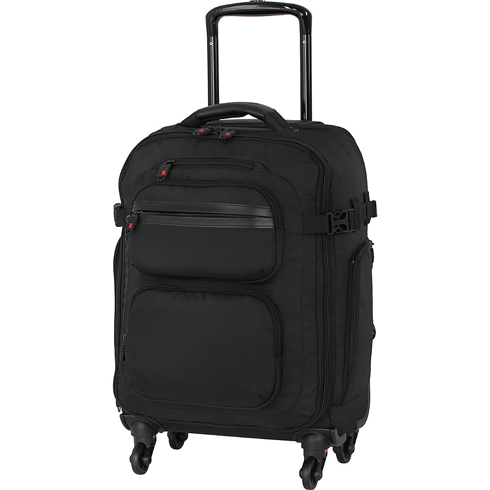 it luggage Carry Master 20.1 Removable Wheel Spinner Carry-On Luggage Black - it luggage Softside Carry-On