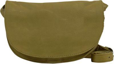 Day & Mood Ash Saddle Bag Pale Khaki - Day & Mood Leather Handbags