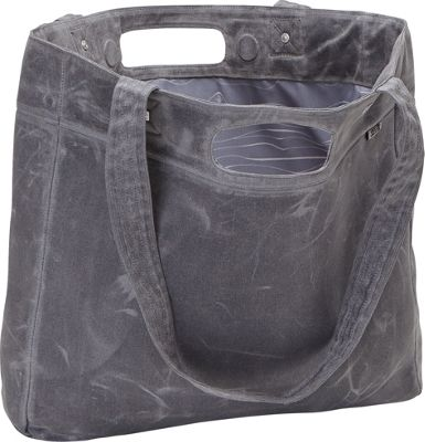 aTana Bags Tasana Tote Gray with Gray Topo - aTana Bags All-Purpose Totes