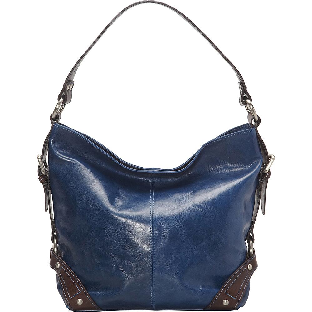 Nino Bossi Genna Shoulder Bag Denim - Nino Bossi Leather Handbags - Handbags, Leather Handbags