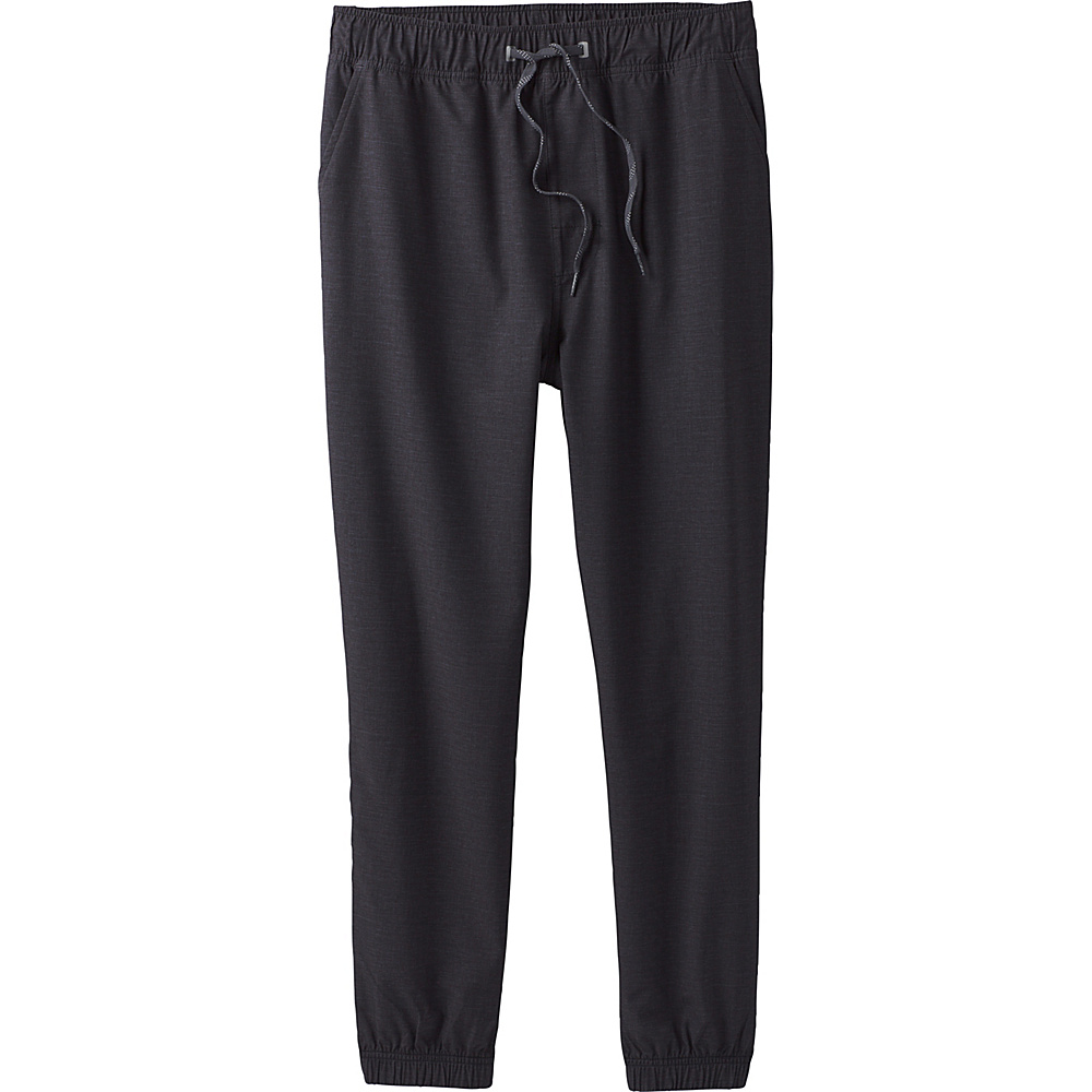 PrAna Spencer Jogger XXL - Black Heather - PrAna Mens Apparel - Apparel & Footwear, Men's Apparel