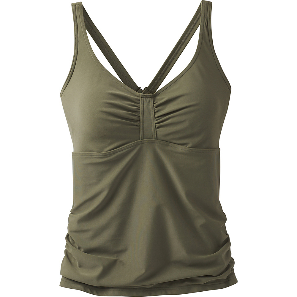 PrAna Aelyn Tankini / D-Cup Cargo Green - PrAna Womens Apparel - Apparel & Footwear, Women's Apparel