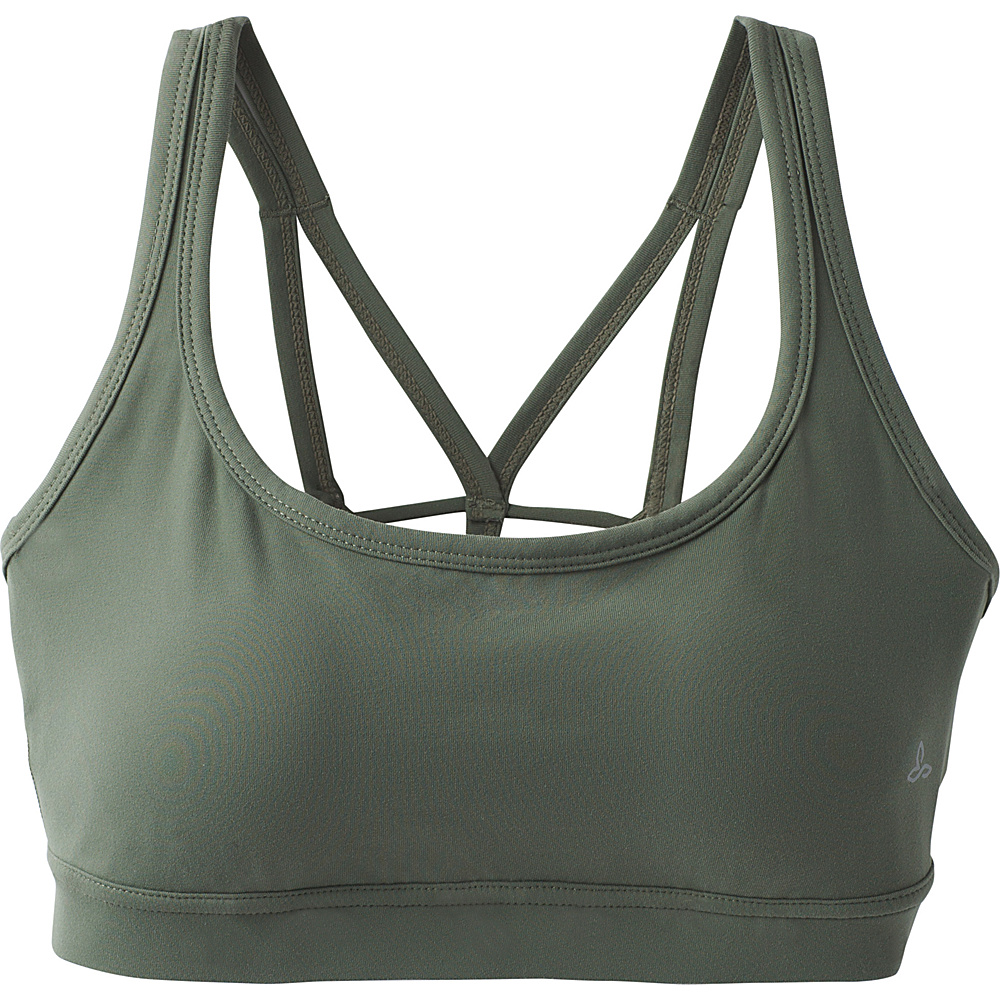 PrAna Naturale Bra M - Forest Green - PrAna Womens Apparel - Apparel & Footwear, Women's Apparel