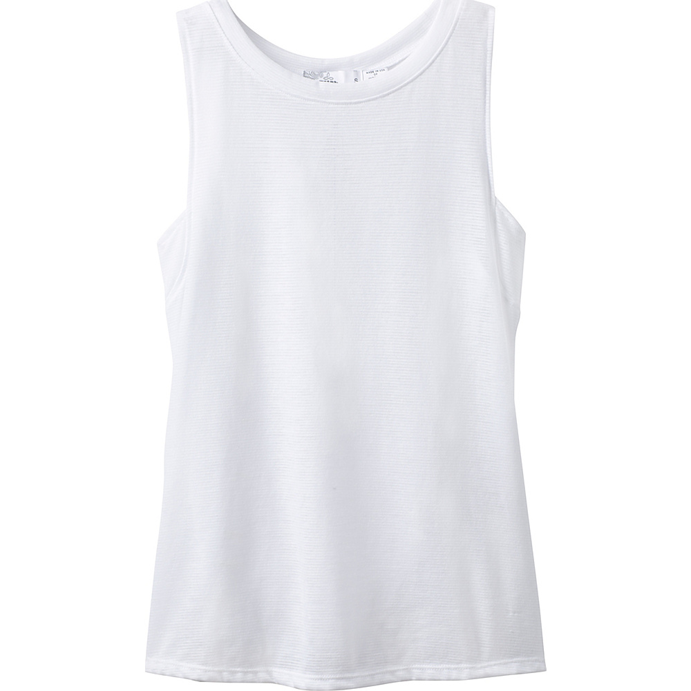 PrAna Alannis Tank XS - White - PrAna Womens Apparel - Apparel & Footwear, Women's Apparel