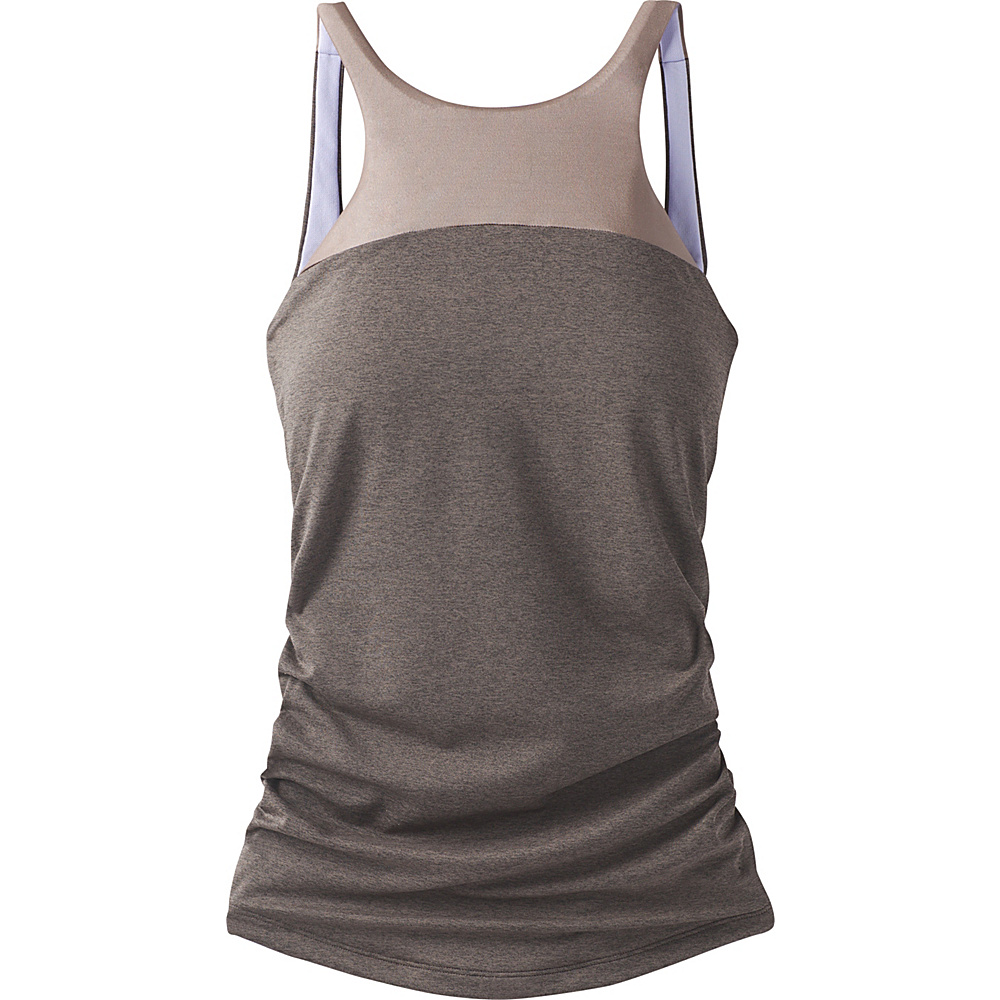PrAna Catrin Tankini XL - Muted Truffle - PrAna Womens Apparel - Apparel & Footwear, Women's Apparel