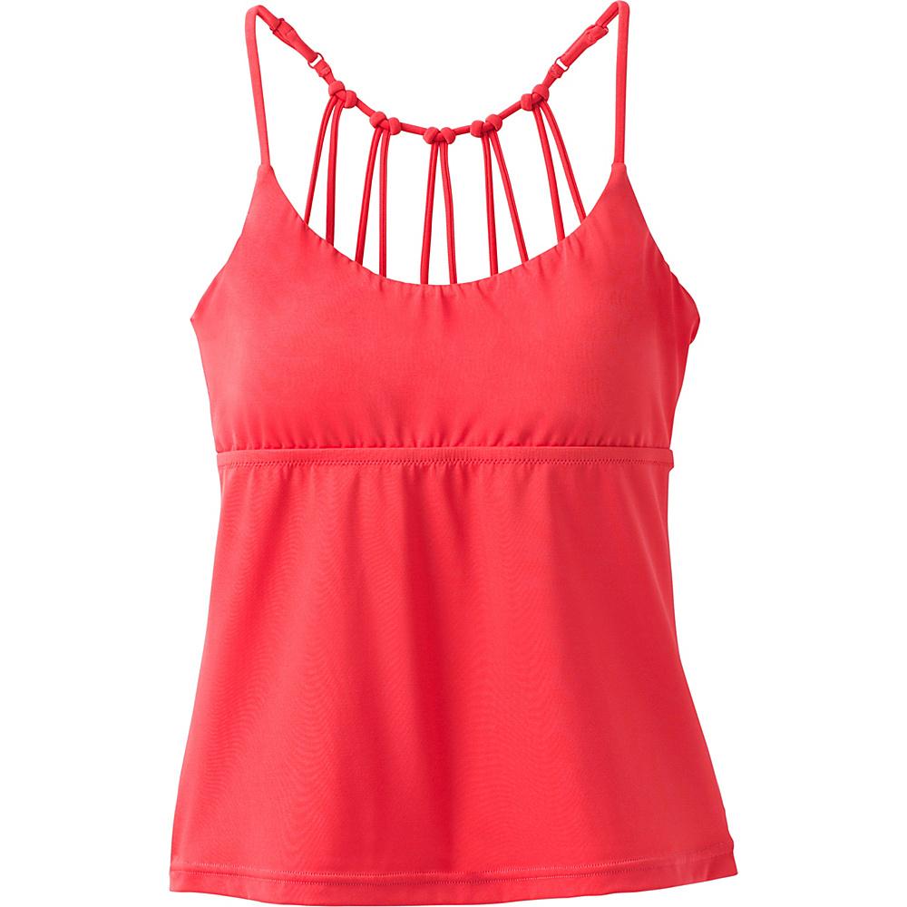 PrAna Merrow Tankini XL - Carmine Pink - PrAna Womens Apparel - Apparel & Footwear, Women's Apparel