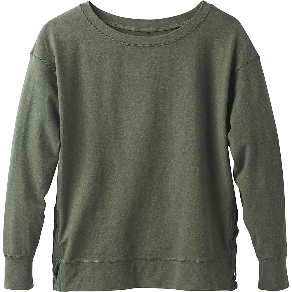 PrAna Ostara Top M - Forest Green - PrAna Womens Apparel - Apparel & Footwear, Women's Apparel