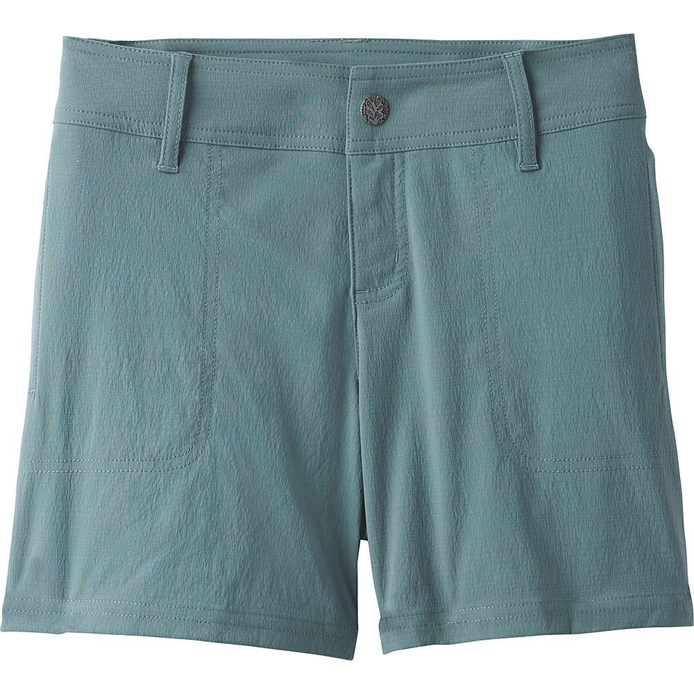 PrAna Revenna Short 5 Inseam 2 - Starling Green - PrAna Womens Apparel - Apparel & Footwear, Women's Apparel