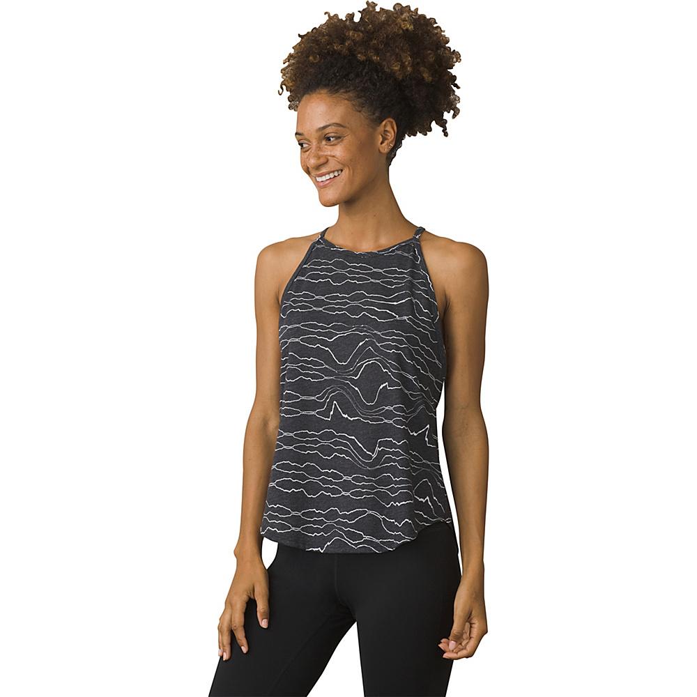 PrAna Graphic You Tank XS - Black Tidepool - PrAna Womens Apparel - Apparel & Footwear, Women's Apparel