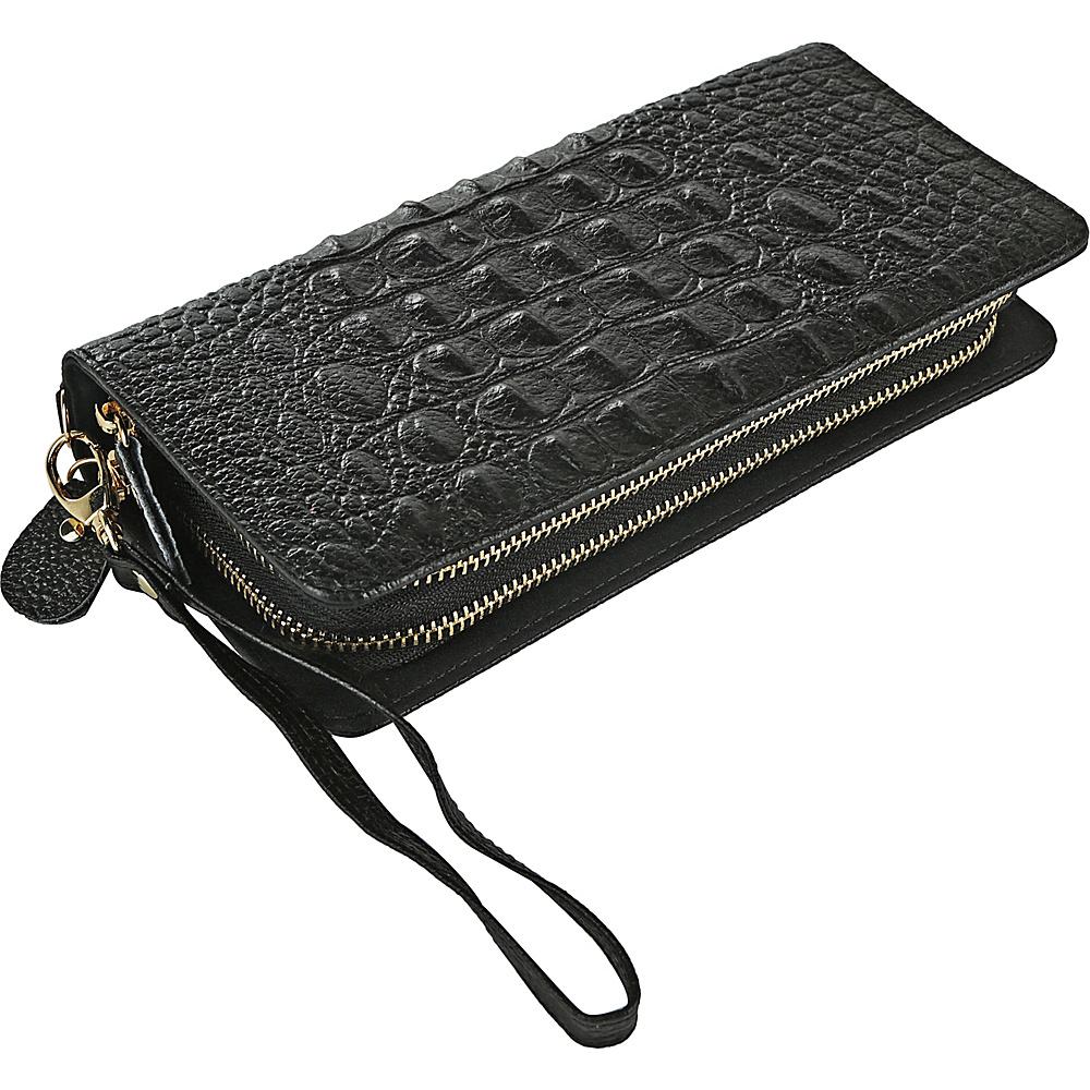 MKF Collection by Mia K. Farrow Eve Wristlet Wallet Black - MKF Collection by Mia K. Farrow Womens Wallets - Women's SLG, Women's Wallets