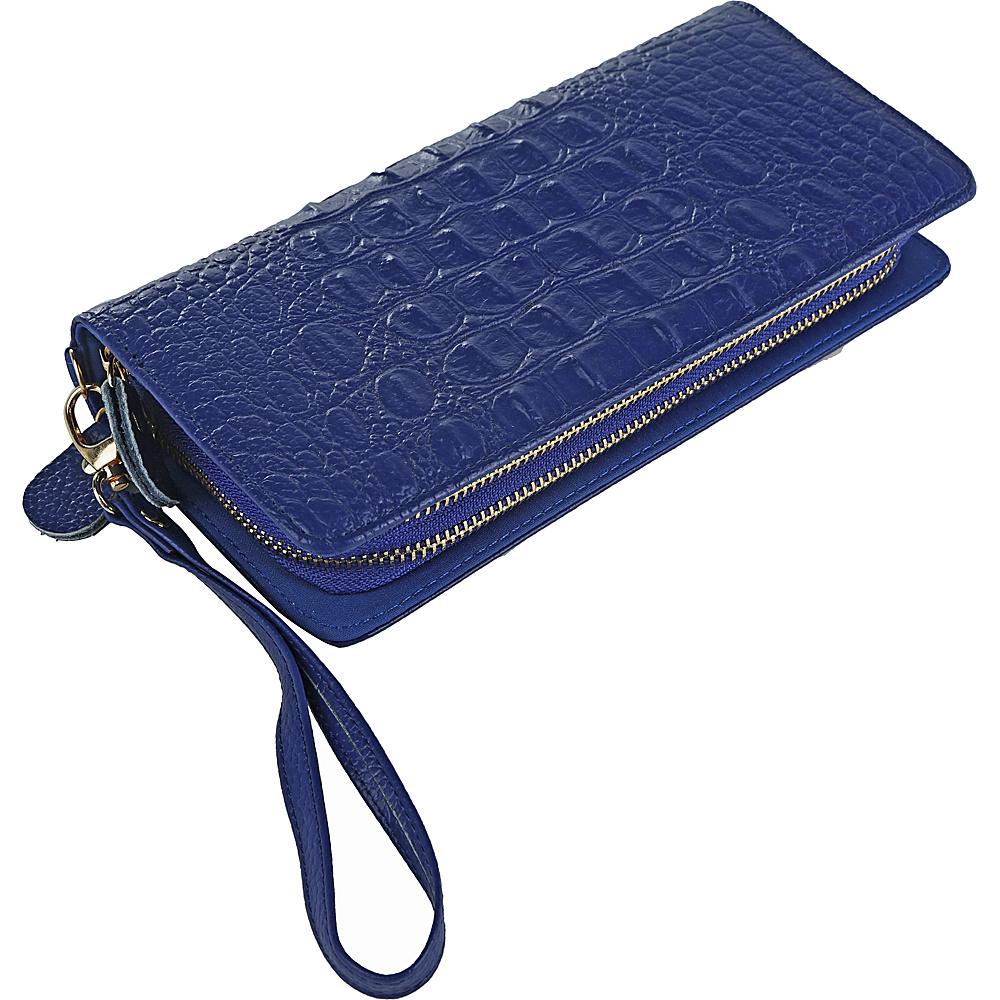 MKF Collection by Mia K. Farrow Eve Wristlet Wallet Blue - MKF Collection by Mia K. Farrow Womens Wallets - Women's SLG, Women's Wallets
