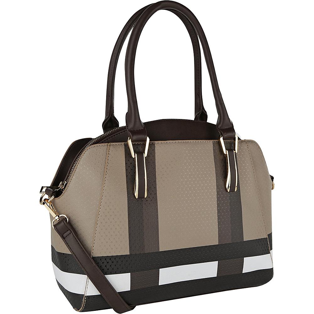 MKF Collection by Mia K. Farrow Demi Tote Brown - MKF Collection by Mia K. Farrow Manmade Handbags - Handbags, Manmade Handbags