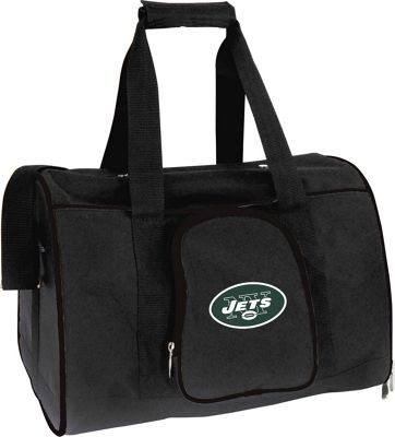 "Mojo Licensing NFL Pet Carrier 16"""" Premium Bag New York Jets - Mojo Licensing Pet Bags"