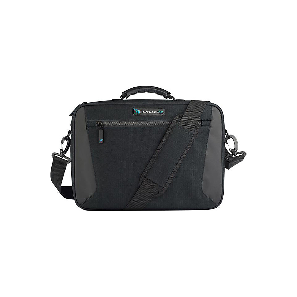 "Techproducts 360 Alpha 11"" Case Black Techproducts 360 Messenger Bags"