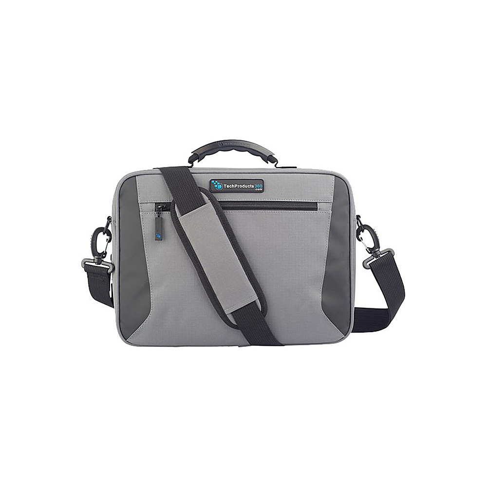 "Techproducts 360 Alpha 11"" Case Grey Techproducts 360 Messenger Bags"