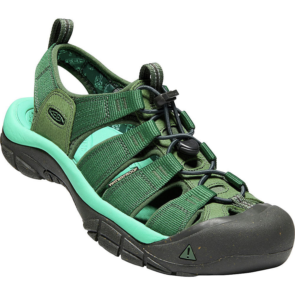 KEEN Mens Newport Eco Sandals 9.5 - Outfield/Raven - KEEN Mens Footwear - Apparel & Footwear, Men's Footwear