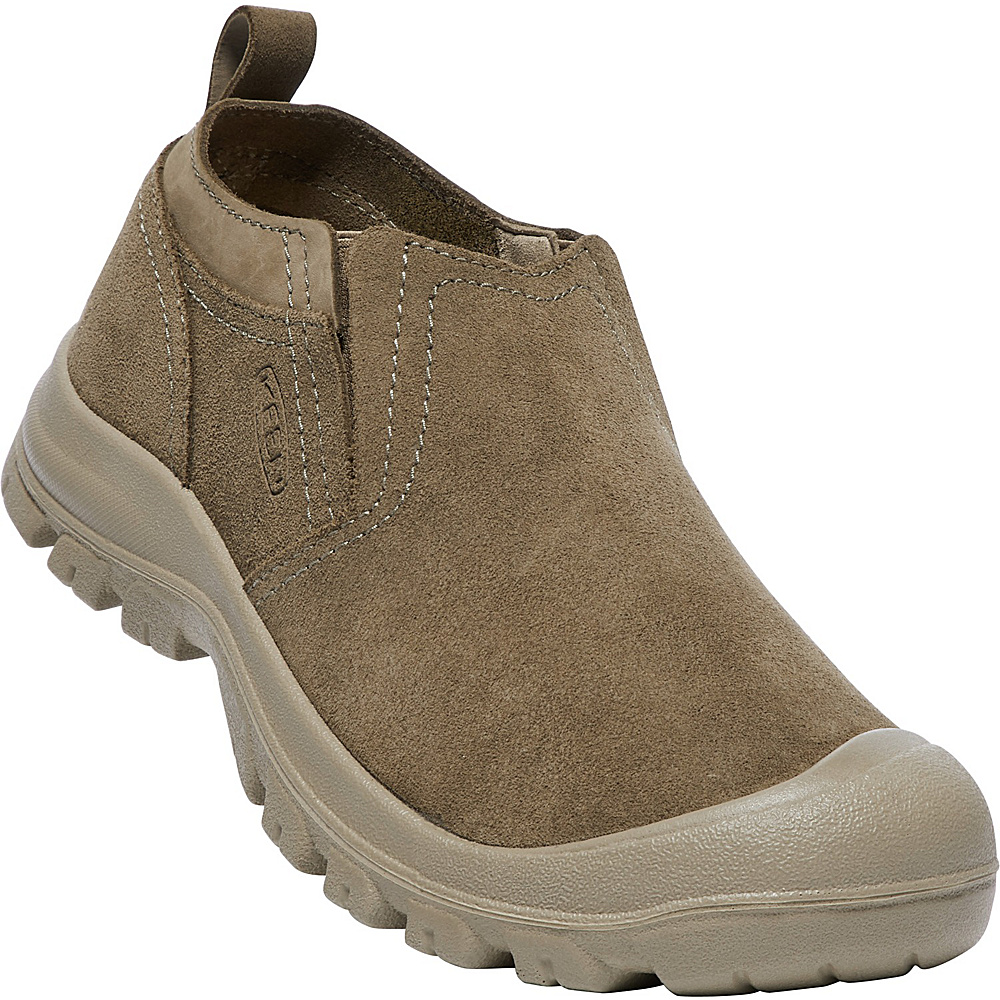 KEEN Mens Grayson Slip-On Shoes 9.5 - Sage/Lama - KEEN Mens Footwear - Apparel & Footwear, Men's Footwear