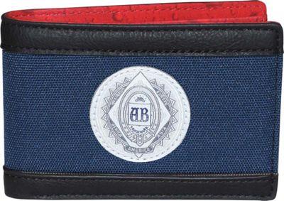 Budweiser CO2  Front Pocket Slimfold Wallet Blue - Budweiser Men's Wallets