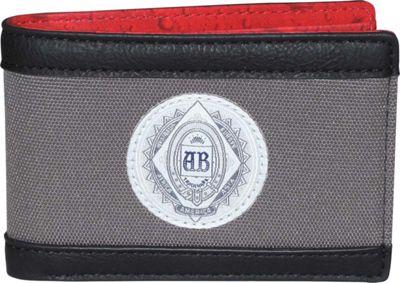 Budweiser CO2  Front Pocket Slimfold Wallet Grey - Budweiser Men's Wallets