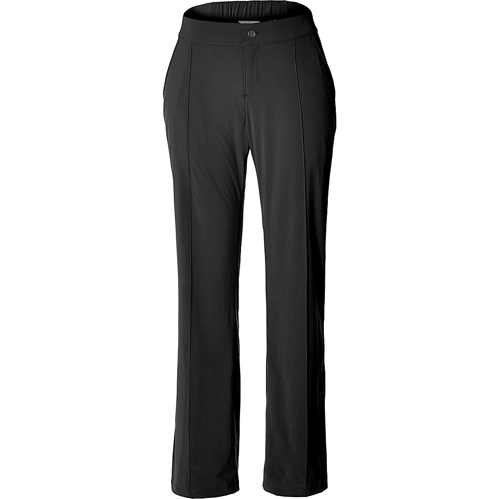 Royal Robbins Womens Spotless Traveler Pant 12 - 32in - Jet Black - Royal Robbins Womens Apparel - Apparel & Footwear, Women's Apparel