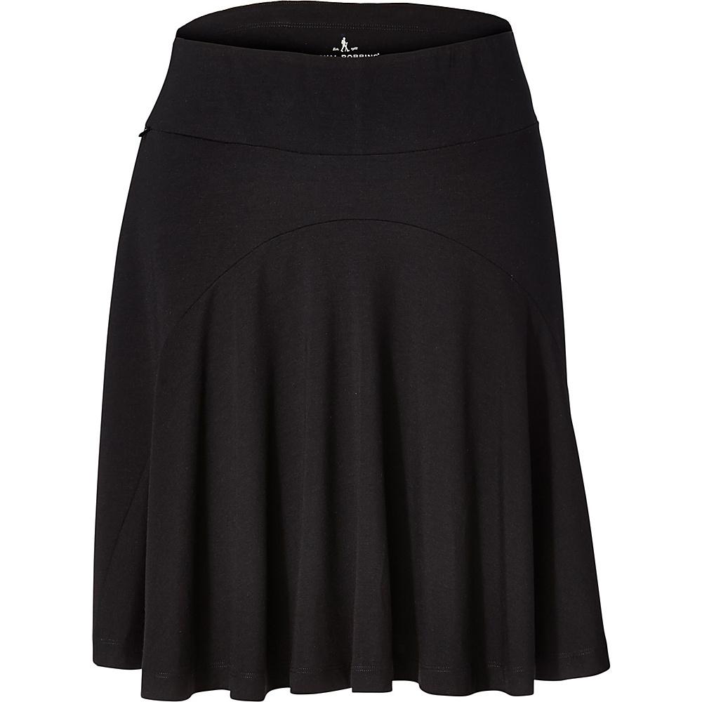 Royal Robbins Womens Essential Tencel Skirt XS - Jet Black - Royal Robbins Womens Apparel - Apparel & Footwear, Women's Apparel