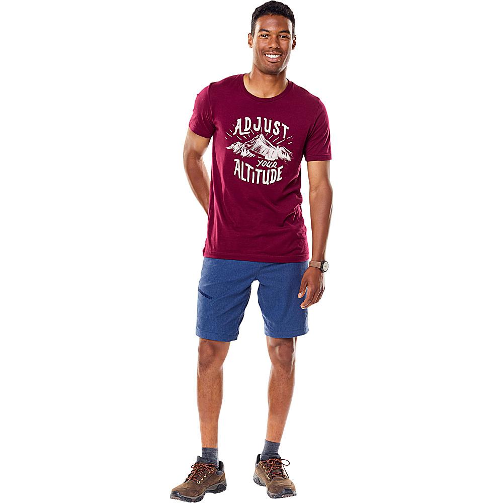 Royal Robbins Mens Altitude Graphic Tee S - Cab - Royal Robbins Mens Apparel - Apparel & Footwear, Men's Apparel
