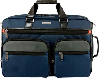 Monyker JW Convertible Weekender Duffel Ballistic Navy - Monyker Travel Backpacks