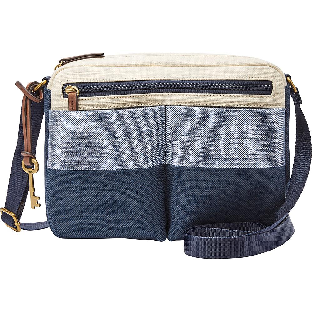 Fossil Bailey EW Crossbody Neutral Multi - Fossil Fabric Handbags - Handbags, Fabric Handbags