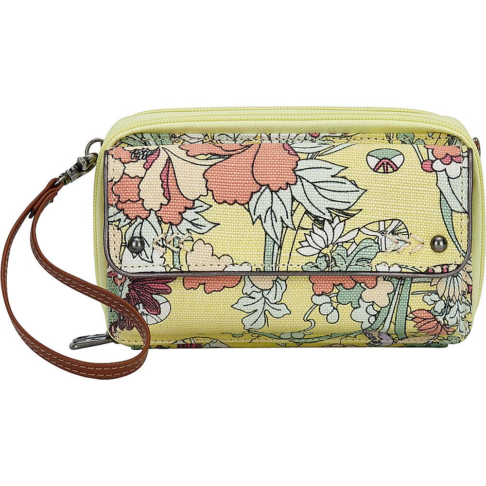 Sakroots Luna Smartphone Crossbody Sunlight Flower Power - Sakroots Fabric Handbags - Handbags, Fabric Handbags