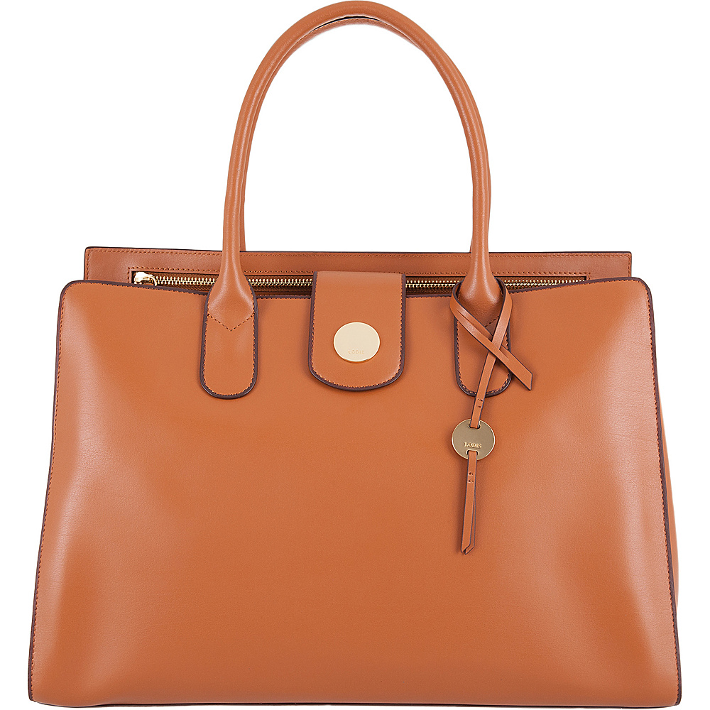 Lodis Rodeo RFID Ally Work Tote Toffee - Lodis Leather Handbags - Handbags, Leather Handbags