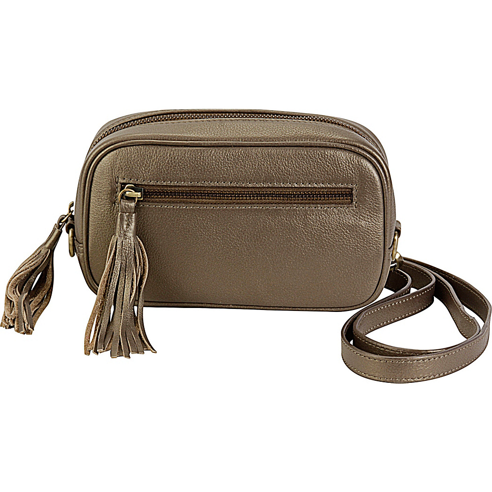Hadaki Xbody Fanny Pack Bronze - Hadaki Leather Handbags - Handbags, Leather Handbags