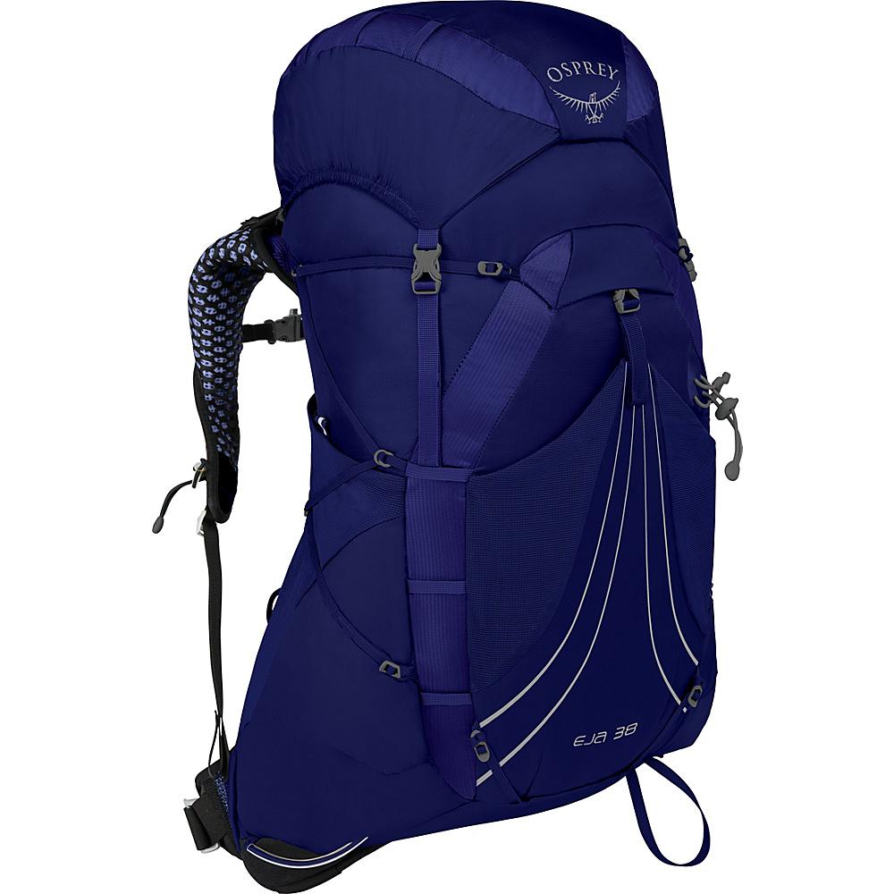 Osprey Eja 38 Hiking Backpack Equinox Blue – XS - Osprey Backpacking Packs - Outdoor, Backpacking Packs