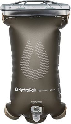 Hydrapak Full Force 2L Reservoir Mammoth Grey - Hydrapak Hydration Packs and Bottles