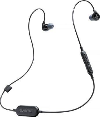 Shure SE112-K-BT1 Wireless Sound Isolating Earphones Black - Shure Headphones & Speakers