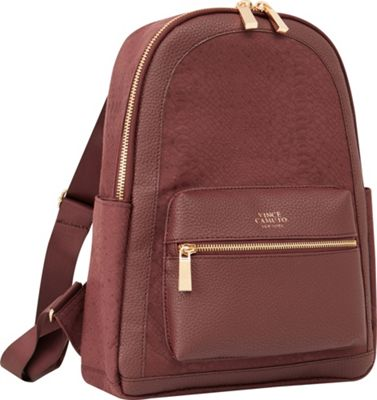 Vince Camuto Luggage Ameliah 15 inch Backpack Fig - Vince Camuto Luggage Everyday Backpacks