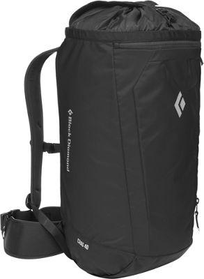 Black Diamond Crag 40 Hiking Pack Black/White - Medium/La...