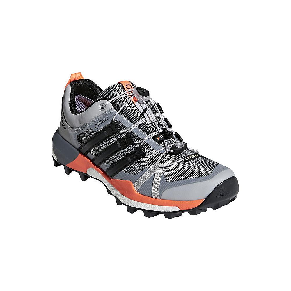 adidas outdoor Womens Terrex Skychaser GTX Shoe 5 - Grey Two/Black/Hi-Res Orange - adidas outdoor Womens Footwear - Apparel & Footwear, Women's Footwear