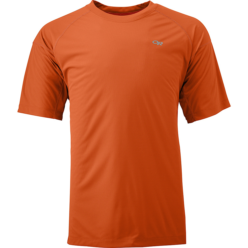 Outdoor Research Echo Tee L - Ember/Diablo - Outdoor Research Mens Apparel - Apparel & Footwear, Men's Apparel