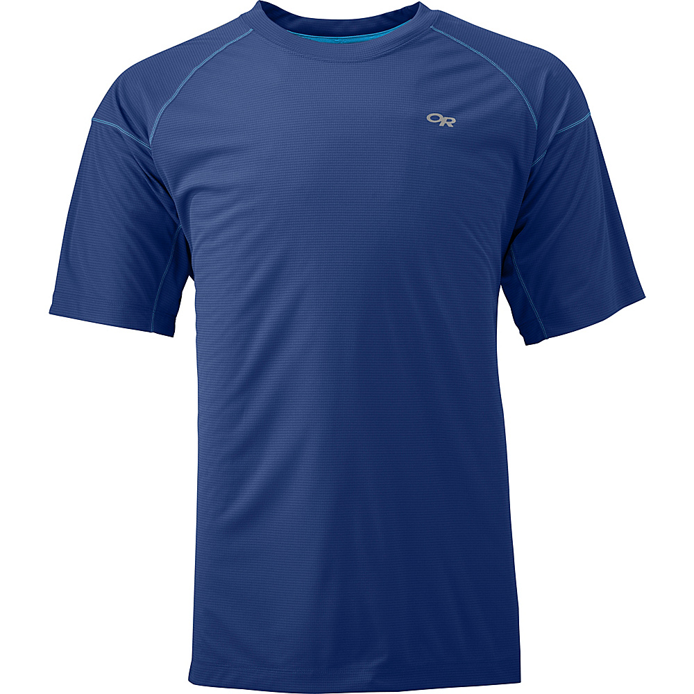 Outdoor Research Echo Tee S - Baltic/Glacier - Outdoor Research Mens Apparel - Apparel & Footwear, Men's Apparel
